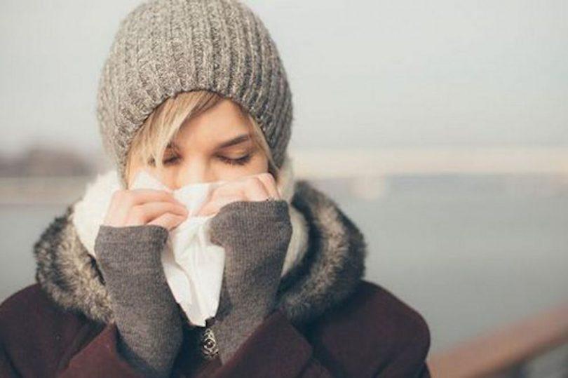 neus snuiten of ophalen