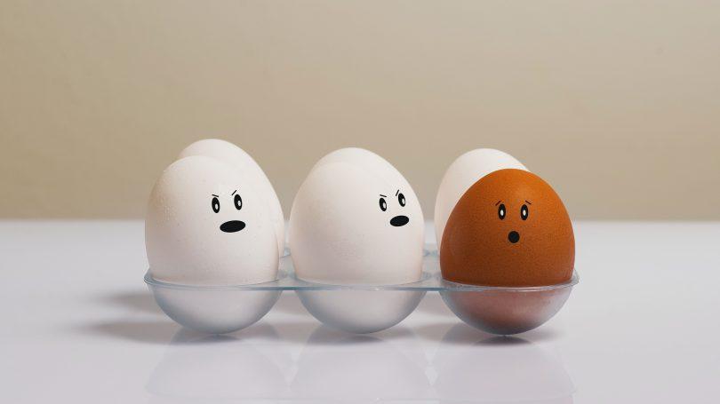 eieren gekoeld bewaren